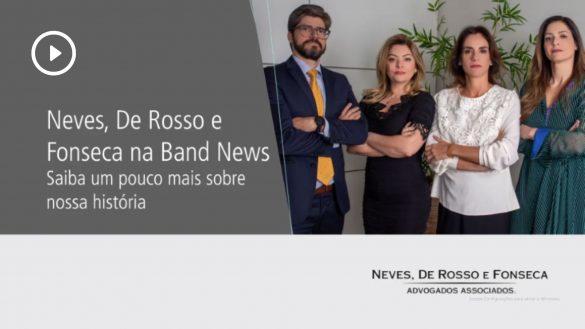 Neves, De Rosso e Fonseca na Band News. Saiba um pouco mais sobre nossa história.